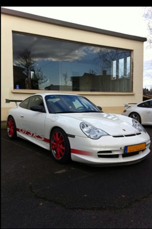 PORSCHE 996 GT3 RS occasion